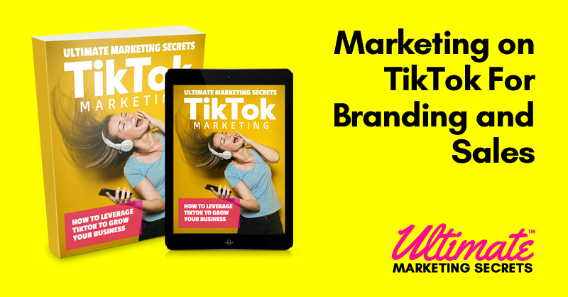 Marketing on TikTok For Branding and Sales.fw