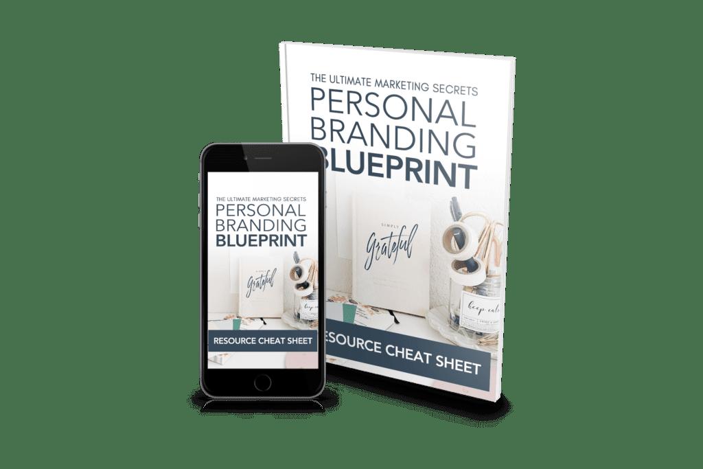 Ultimate Marketing Secrets: Personal Branding Cheat Sheet Cover