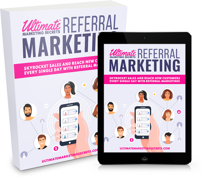 Referral Marketing Tips, Tricks and Training Headline